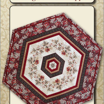 Hexagon Table Topper by Sew Biz