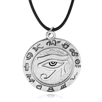 Eye of Horus Heiratic Script Pendant