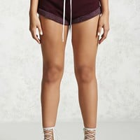 Cuffed French Terry Shorts