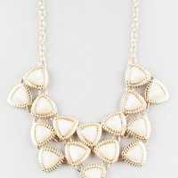 Full Tilt Night Out Statement Necklace Gold One Size For Women 27170362101