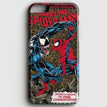 Vintage Spiderman Cover iPhone 8 Plus Case | casescraft