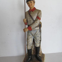 Civil War 1863 Artillery Men Lefton China Figurine Civil War Men Reenactment Colonial Decor Infantry Cavalry Soldier Civil War Decor