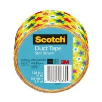Scotch Duct Tape, Star Struck, 1.88-Inch by 10-Yard