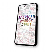 American Horror Story Quotes galaxy for iphone 6 case