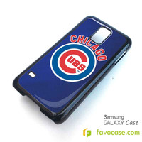 CHICAGO CUBS Samsung Galaxy S2 S3 S4 S5, Mini, Note, Tab Case Cover