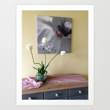 Ladybird for your home Art Print by Tanja Riedel