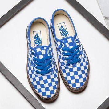 VANS Checkerboard Old Skool Flats Shoes Sneakers Sport Shoes