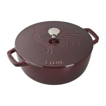 Staub Cast Iron 3.75-qt Essential French Oven Roaster