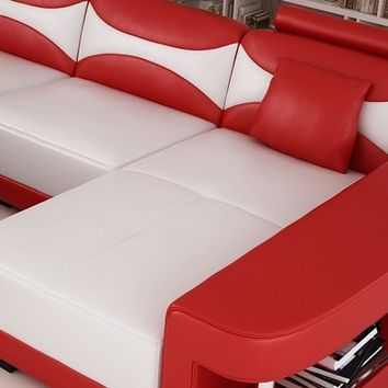 Full Size Yanny Sectional Sofa by Scene Furniture - Opulentitems.com