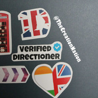 One Direction Sticker Package