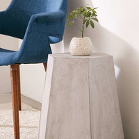 Faux Concrete Stool | Urban Outfitters