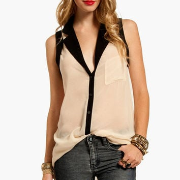 Out of Tunic Button Down Shirt