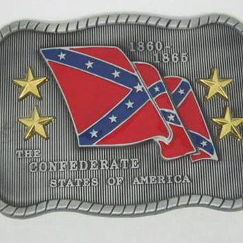 CSA Confederate Belt Buckle