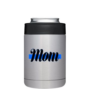 Police Mom CAN Cooler or Bottle Colster Stainless Steel - Police Officer Law Enforcement Gift