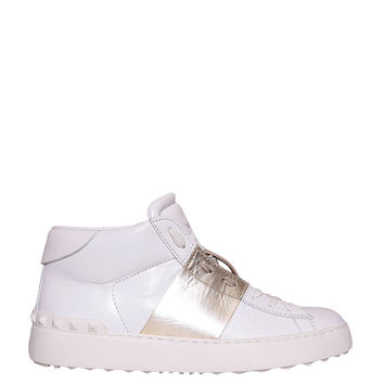 VALENTINO GARAVANI Leather High-top sneakers