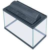 Aqueon Small Aquarium Combo Tank & Hood - Black 10 Gallon