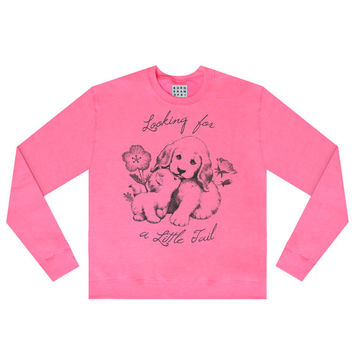 Looking For Tail Sweatshirt Jumper (Pink)
