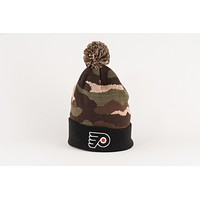 Philadelphia Flyer Camo Winter Hat