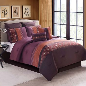 Victoria Classics Clermont 8-pc. Comforter Set (Red)