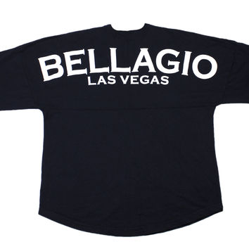 Vintage Bellagio Las Vegas Long Sleeve Shirt Mens Size Large