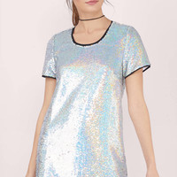 Shift In Time Sequin Dress