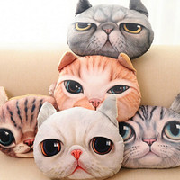 Large sized Cat Head pillows!