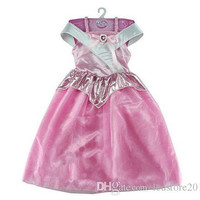 Kids Girls Sleeping Beauty Princess Dress Cosplay Costumes Wear Perform Clothes Dresses,Wedding Party Dress