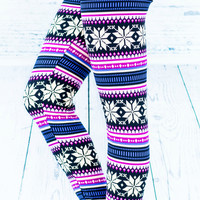 SNOW FALL LEGGINGS