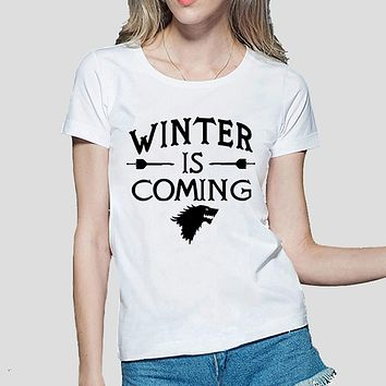 Winter is Coming [Game of Thrones, House Stark] Women's T-Shirt