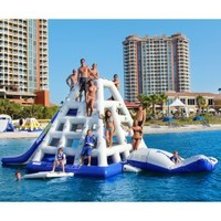 Aquaglide Jungle Joe II Water Park and Slide | www.inflatabletrampolines.com