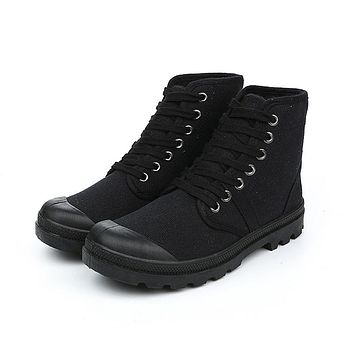 Army Boots Casual Canvas
