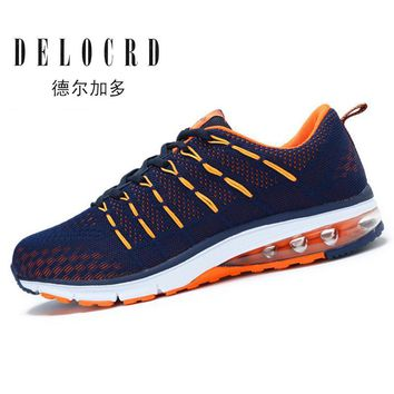 2017 Professional Running Shoes for Men High Quality Sneakers Breathable Mesh Sports Shoes with Flywire Design Free Gift Insole