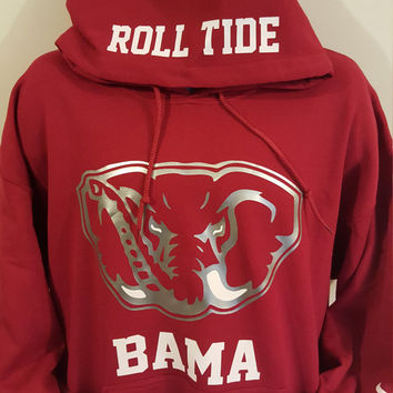 Alabama Edition, College Hoodie, Sweatshirt, SweatHoodie, Football Fan, Roll Tide, Gift for her, Gift for him, in time for christmas