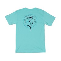 Spring Tide Tee in Mint by Guy Harvey