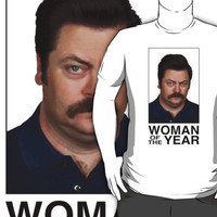 Ron Swanson - Woman Of The Year