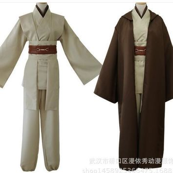 Free shipping Star Wars Jedi Knight Anakin Skywalker hot selling role-playing Uniform Cosplay Costume Full Set