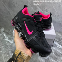 HCXX N888 Nike Air Vapormax 2019 mesh breathable Drop molding Running Shoes black Rose Red