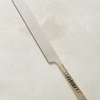 Besart Cake Knife by Anthropologie in Gold Size: One Size Kitchen