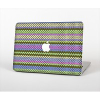 The Colorful Knit Pattern Skin Set for the Apple MacBook Air 13""