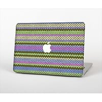 "The Colorful Knit Pattern Skin Set for the Apple MacBook Pro 15"" with Retina Display"