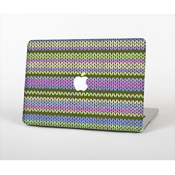 The Colorful Knit Pattern Skin Set for the Apple MacBook Pro 13""