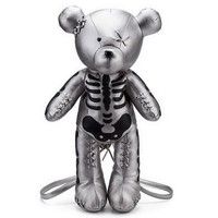 Skeleton Bear Backpack Punk Style