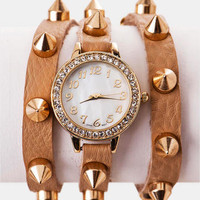 WESTMONT STUDDED WRAP WATCH