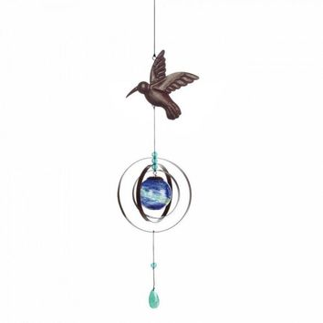 Glow In The Dark Bird Wind Spinner