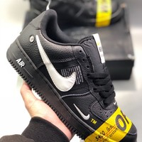 Nike Air Force 1 07 Lv8 Utility Off-white Men's and women's cheap nike shoe