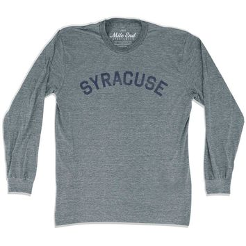 Syracuse City Vintage Long Sleeve T-Shirt