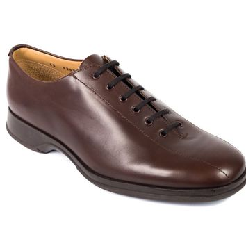 Church's Natural Brown Leather Dion Lace Up Shoes