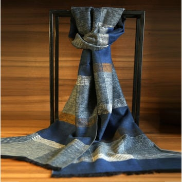 Winter Men Luxury Scarf [6047645057]