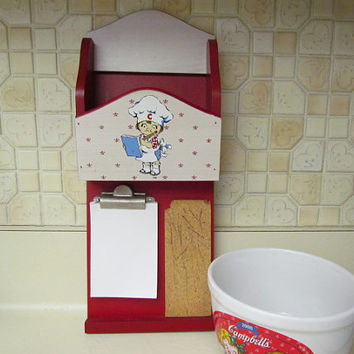 1991 Campbells Soup Mail Letter Memo Message Board Box Shelf