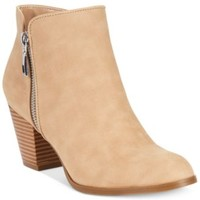Style&co. Jamila Zip Booties, Only at Macy's | macys.com